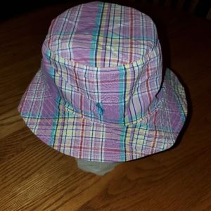NWT | L / XL | POLO RALPH LAUREN PLAID BUCKET HAT